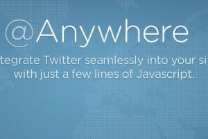 Twitter Anywhere